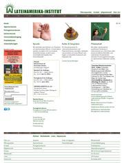 Thumbnail der Website des Österreichischen Lateinamerika-Instituts